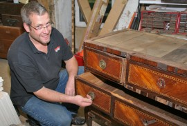 Simon Lorkin – Artisan fine furniture antique restorer – Surrey, Sussex, Hampshire and London